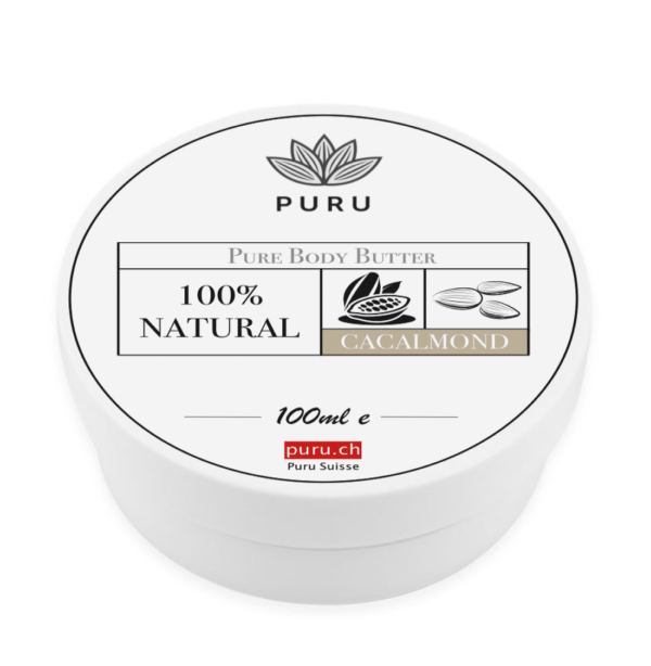 100% Natural Pure Body Butter Cacalmond puru