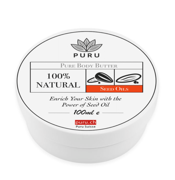 100% Natural Pure Body Butter Seed OIls puru
