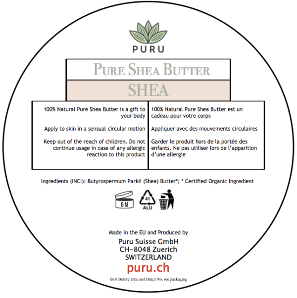 100% Pure Natural Shea Butter PURU photo 4