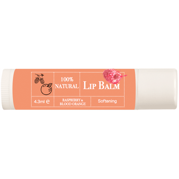 Lip Balm – Blood Orange and Raspberry
