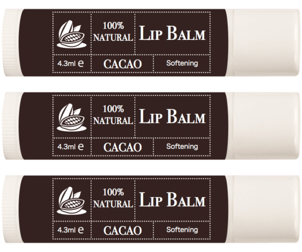 100% Natural Lip Balm – CACAO photo 1