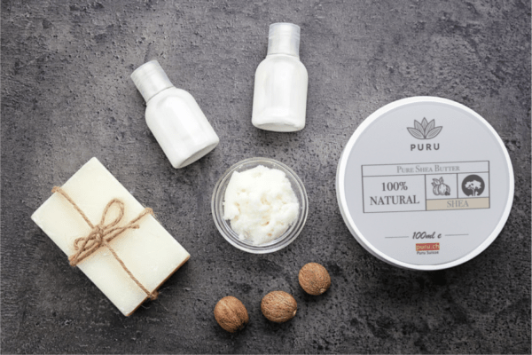100% natural pure shea butter