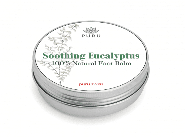 100% Natural Foot Balm with Soothing Eucalyptus
