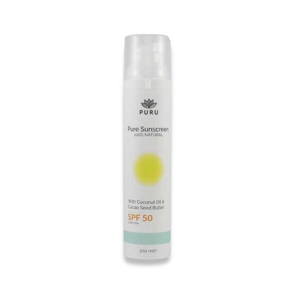 Pure 100% Natural Sunscreen SPF 50