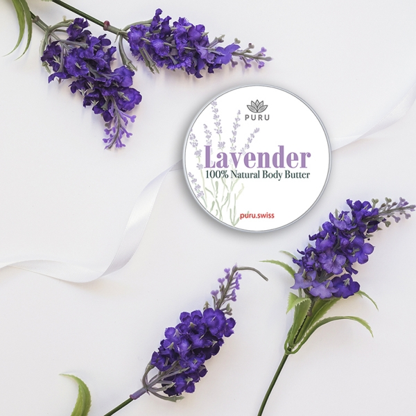 100% Natural Lavender Body Butter photo 2