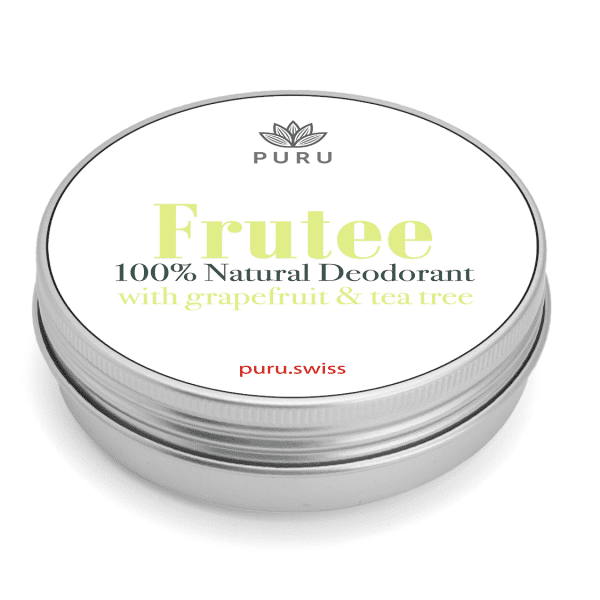 Frutee 100% Natural Deodorant – Grapefruit & Tea Tree
