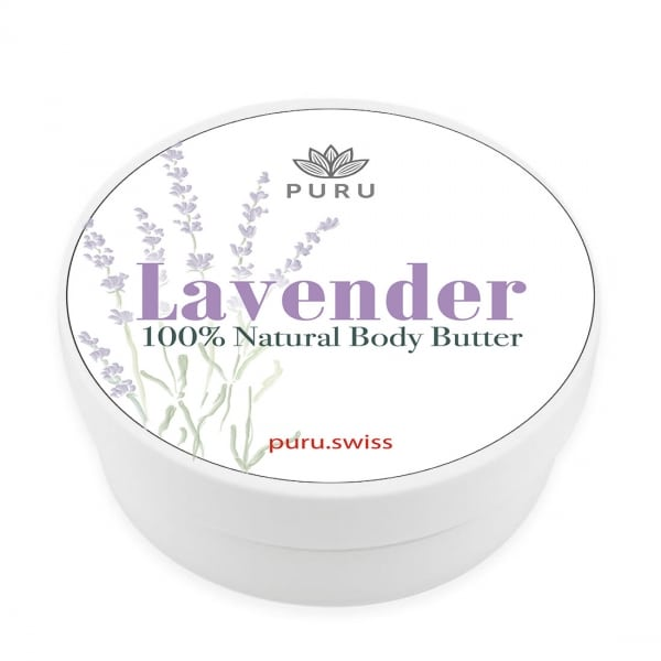 100% Natural Lavender Body Butter