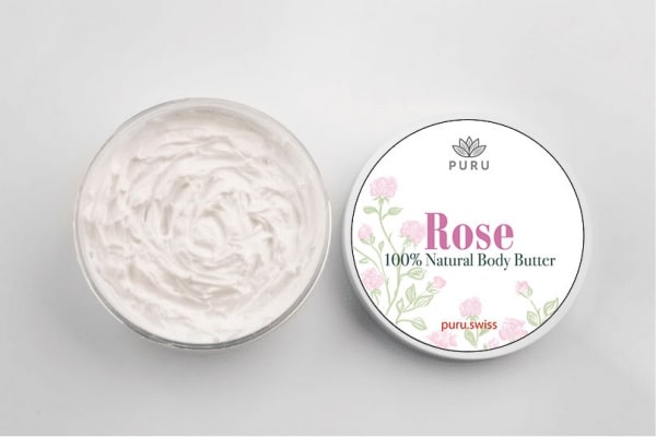 100% Natural Rose Body Butter photo 3