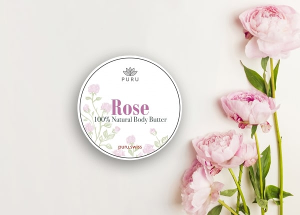 100% Natural Rose Body Butter photo 2