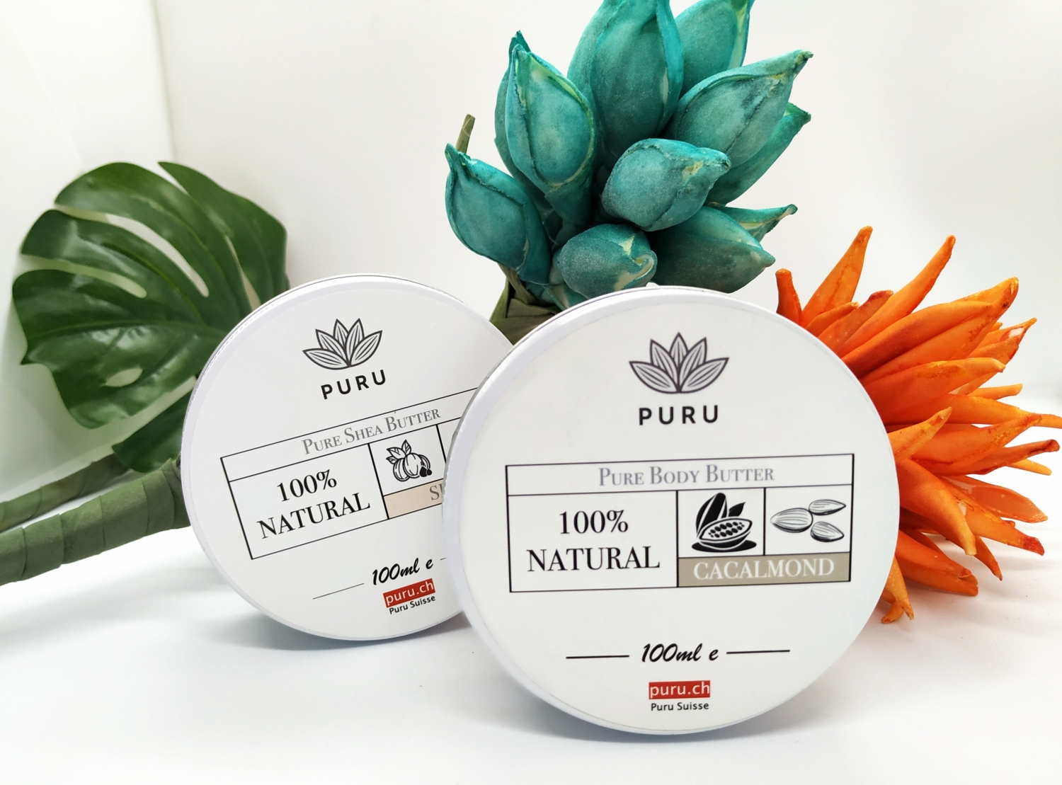 100% Natural Pure Cacalmond and Shea Body Butters