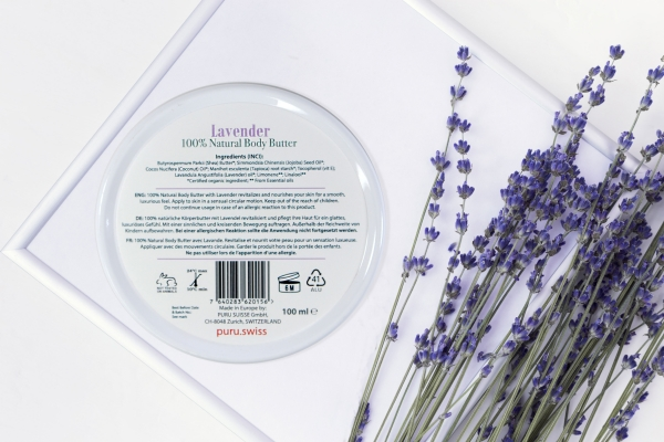 100% Natural Lavender Body Butter photo 4